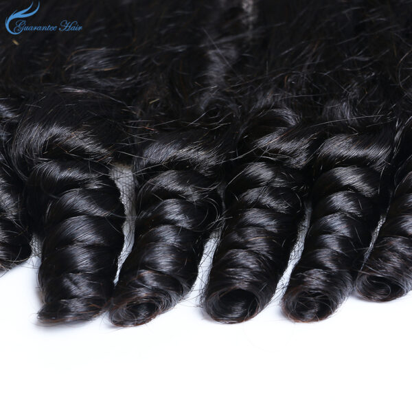 Guarantee hair mink brazilian hair loose curly natural color
