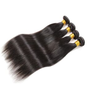 Guarantee Factory Wholesale Hair 8A Grade Brazilian Straight Human Hair Bundles