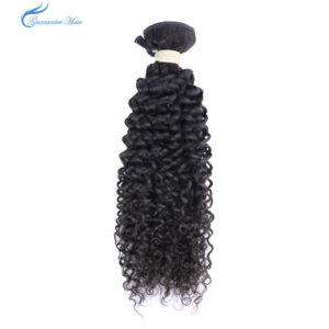 Guarantee hair top quality raw unprocessed virgin mink brazilian hair kinky curly wave natural color