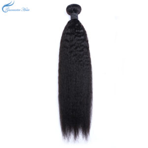 Guarantee hair Brazilian remy yaki straight hair natural color
