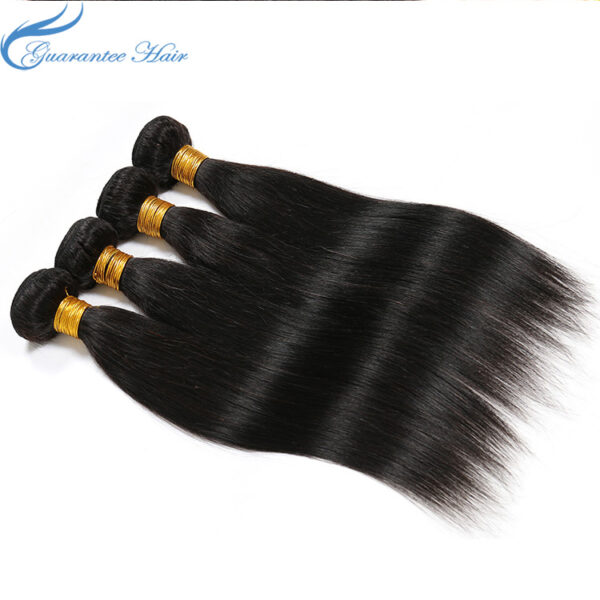 Guaranteehair 8a Grade Hot Sale Peruvian straight remy hair Bundles Straight Hair
