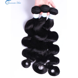No chemical and no mixedPeruvian body wave human hair weave