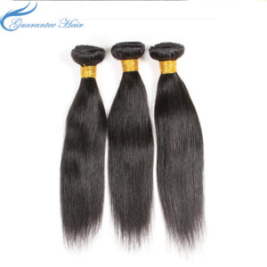 No chemical processed mink virgin Brazilian straight human hair (8A) bundles