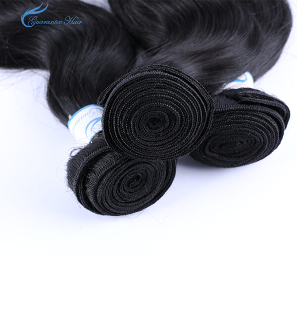 Guarantee hair unprocessed virgin human hair body wave hair bundle with natural color best quality