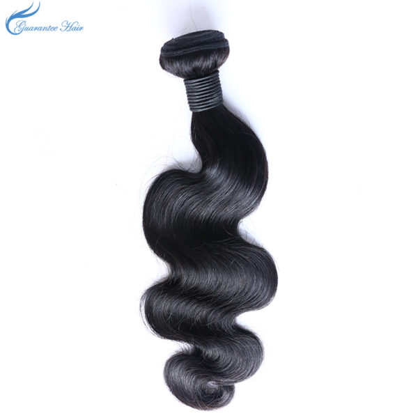 Guarantee hair 100% human remy hair natural color body wave high quality for hot selling 1pcs wholesale vendors milky way hair w