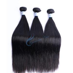 Discount wholesale mink virgin Vietnam straight human hair bundles ,10-28inch stock