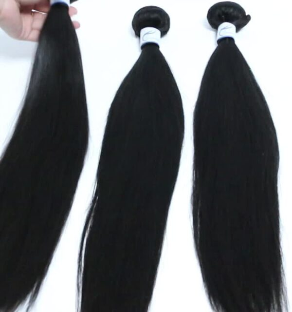 Guarantee hair 100% virgin hair straight natural color