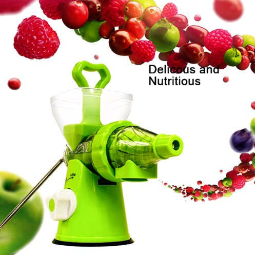Multi-function manual fruit and vegetable juicer