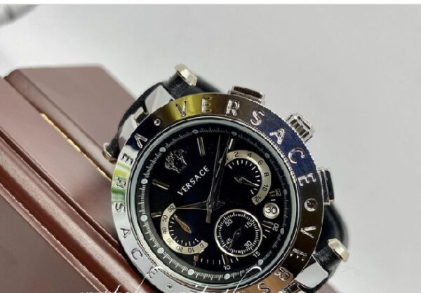 Versace luxury men wristwatch