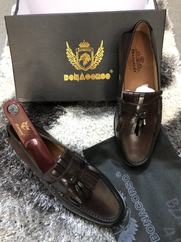 Italian leather shoe