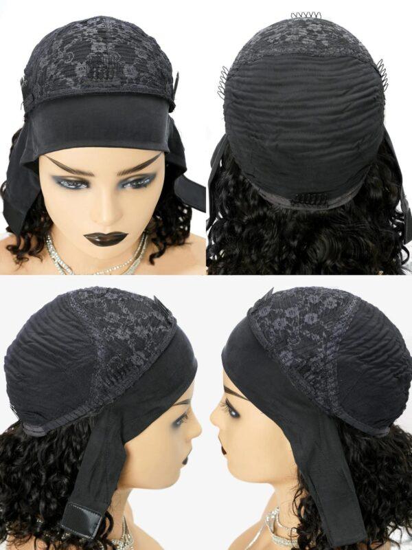 Body wave Headband Wig