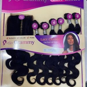 Grammy Body Wave with Lace Closure