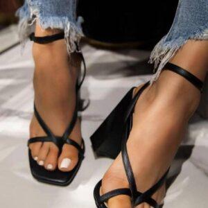 UK Stock Ladies Block Heels